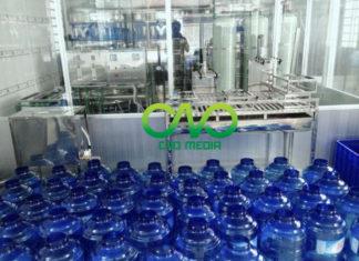 Xin giấy phép vệ sinh an toàn thực phẩm cơ sở sản xuất nước đóng chai