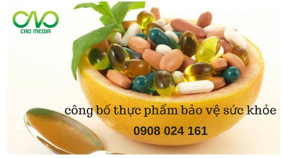 Hướng dẫn công bố thực phẩm bảo vệ sức khỏe
