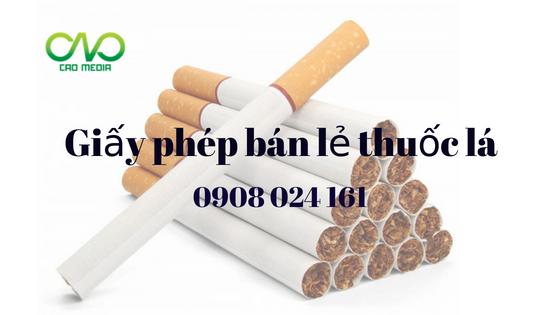 Quy định về việc xin giấy phép bản lẻ thuốc lá trong cửa hàng