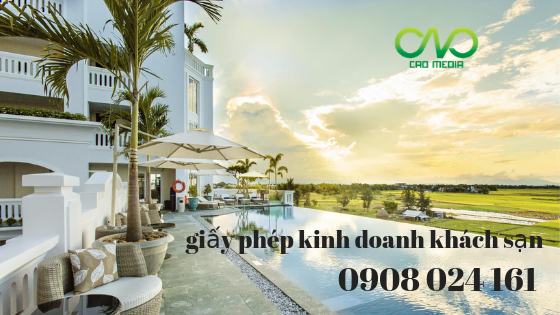Thủ tục thành lập doanh nghiệp kinh doanh khách sạn