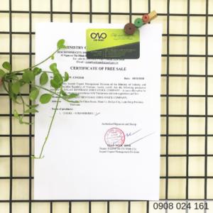Xin giấy chứng nhận lưu hành tự do cafe hòa tan