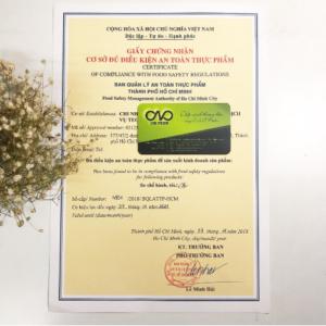 Xin giấy phép an toàn thực phẩm cho khách sạn 2 sao