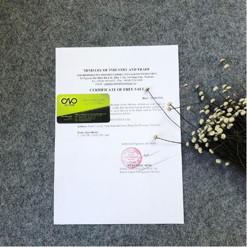 Xin giấy chứng nhận lưu hành tự do cho gạo xuất khẩu