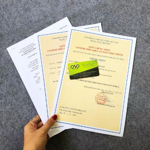 Thủ tục cấp giấy an toàn thực phẩm cho cơ sở sản xuất