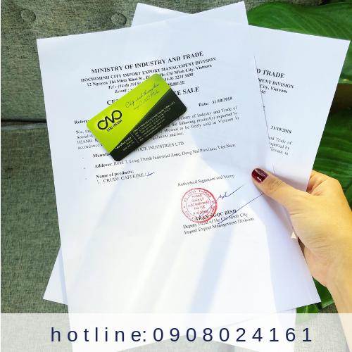 Trình tự thực hiện giấy chứng nhận CFS cho trái cây sấy