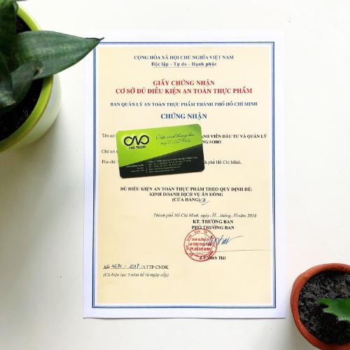 Thủ tục xin giấy an toàn thực phẩm cho quán giải khát