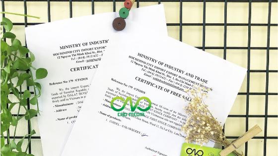 Quy trình xin giấy chứng nhận lưu hành tự do cho hàng hóa
