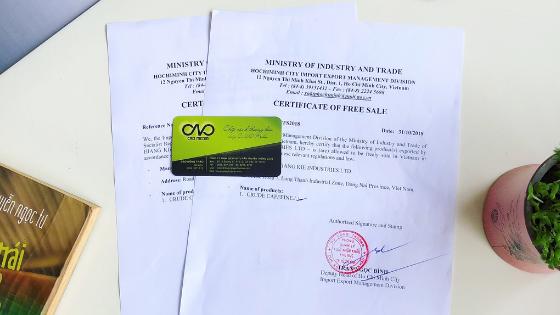 Thủ tục xin giấy lưu hành tự do cho gạo xuất khẩu