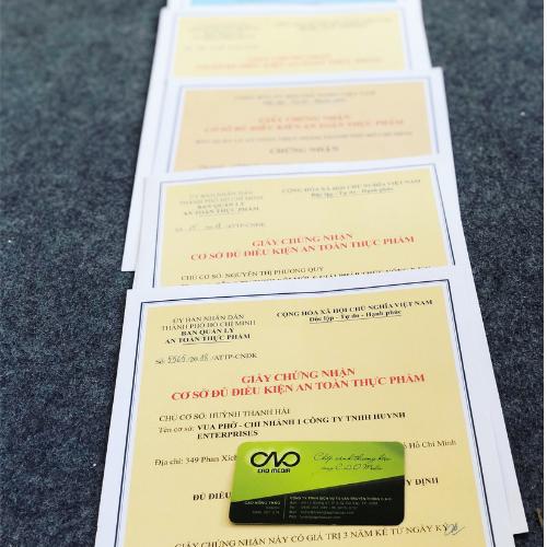 Làm giấy chứng nhận an toàn thực phẩm cho cơ sở chế biến suất ăn sẵn
