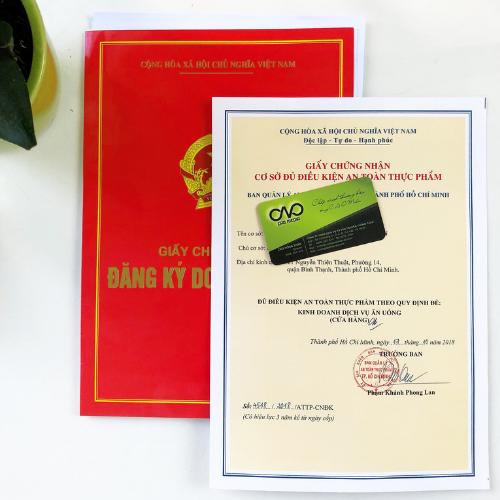 Thủ tục cấp mới giấy an toàn thực phẩm dịch vụ ăn uống