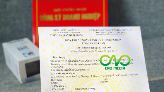 Dịch vụ xin giấy phép kinh doanh tại tp.hcm