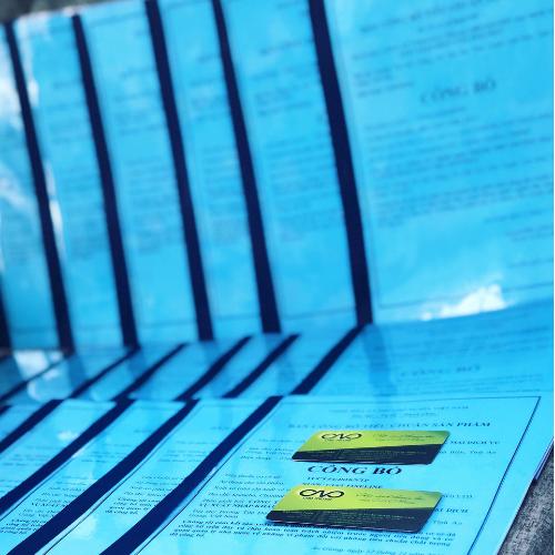 Dịch vụ thực hiện bản công bố tiêu chuẩn cơ sở cho nước giặt trọn gói