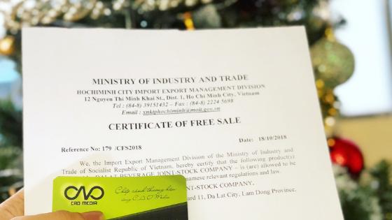 Dịch vụ xin giấy chứng nhận lưu hành tự do trọn gói