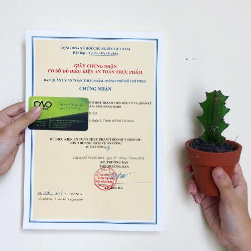 Thực hiện xin giấy chứng nhận cơ sở đủ điều kiện an toàn thực phẩm có thời hạn bao lâu