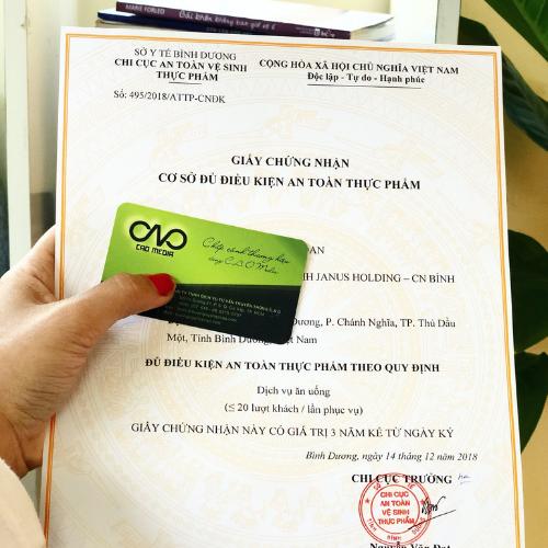 Mẫu đơn xin cấp giấy chứng nhận an toàn thực phẩm