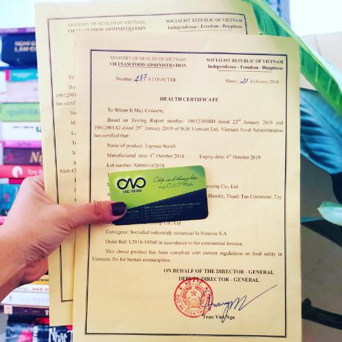 Mẫu giấy chứng nhận health certificate tại việt nam