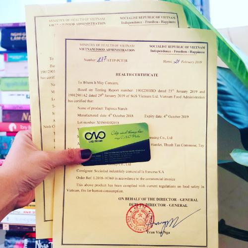 Dịch vụ thực hiện xin giấy health certificate trọn gói