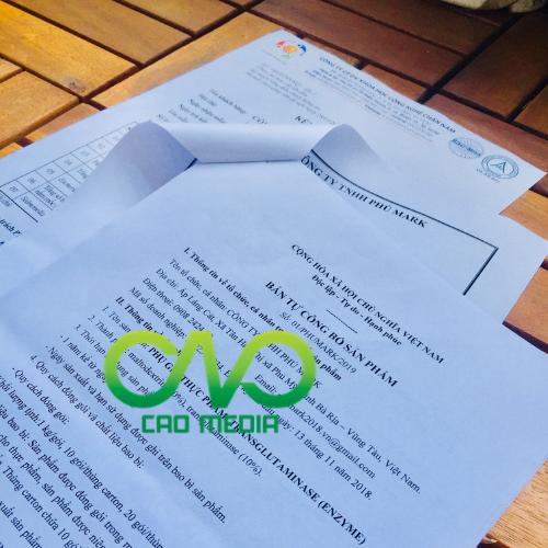 Kiểm nghiệm và công bố chất lượng tinh bột nghệ