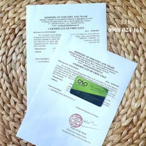 Hướng dẫn xin giấy Certificate of free sale nước ép trái cây