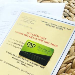 Xin giấy chứng nhận an toàn thực phẩm cho cơ sở làm bánh trung thu có cần thiết không ?