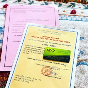 Xin giấy phép an toàn thực phẩm cho cơ sở sản xuất kem tươi tại tp.hcm