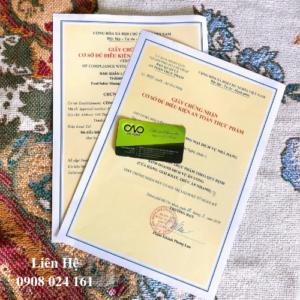 Dịch vụ xin giấy an toàn thực phẩm cho siêu thị tiện lợi