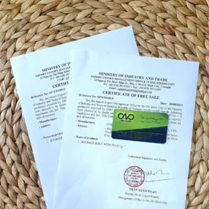 Thực hiện xin giấy chứng nhận CFS cho cá khô xuất khẩu