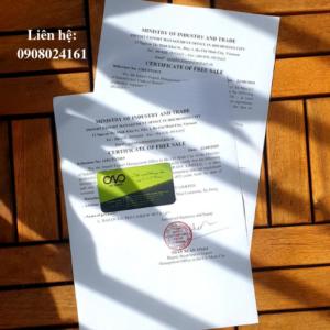Xin giấy chứng nhận lưu hành tự do cho hat điều vỏ lụa rang muối