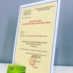 Mở quán cơm phải có giấy chứng nhận VSATTP