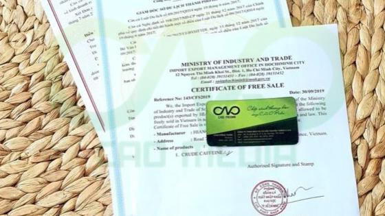 Cơ quan nào cấp giấy chứng nhận lưu hành tự do cho cà phê bột rang xay