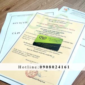Xin giấy chứng nhận an toàn thực phẩm cho cơ sở sản xuất cà phê