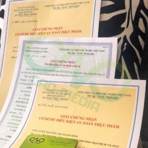 Đăng ký giấy phép vệ sinh an toàn thực phẩm cơ sở chế biến hạt tiêu