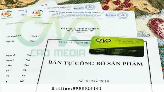 Tự công bố dụng cụ chứa đựng thực phẩm theo nghị định 15/2018