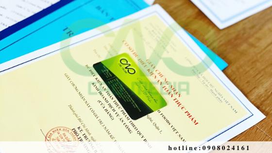 Xin giấy an toàn thực phẩm cho cơ sở sản xuất tinh bột nghệ