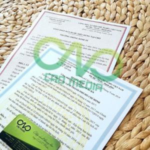 Đơn vị thực hiện xin giấy công nhận hạng 1 sao cho cơ sở lưu trú