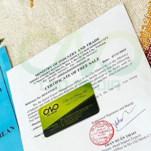 Xin giấy chứng nhận lưu hành tự do cho thanh long đông lạnh