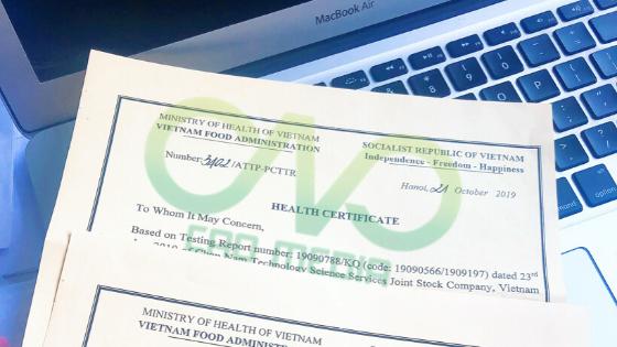 Quy trình xin cấp giấy chứng nhận y tế (HC) cho sản phẩm
