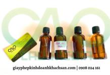 Kiểm nghiệm và công bố tinh dầu tràm NHANH CHÓNG