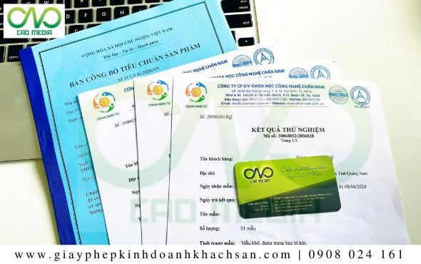 Hồ sơ công bố thực phẩm tại huyện Hóc Môn