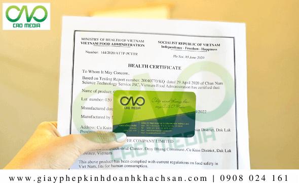 Dịch vụ xin giấy chứng nhận y tế sản phẩm bột chiên xù