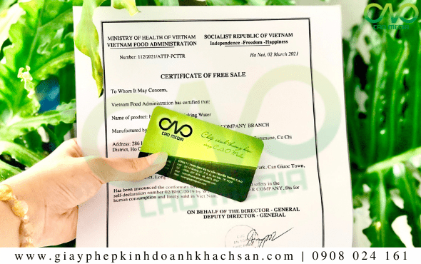 Tư vấn xin giấy phép Certificate of free sale bánh bao cadé