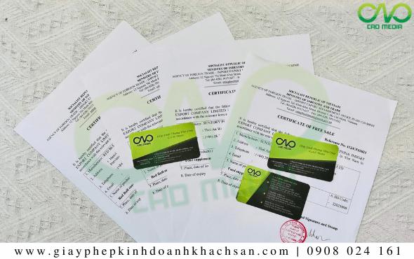 Dịch vụ xin giấy phép lưu hành tự do bánh bao trà xanh